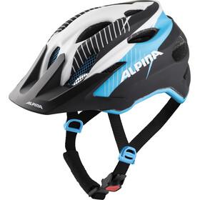 Alpina Carapax Helmet Jugend white-black blue